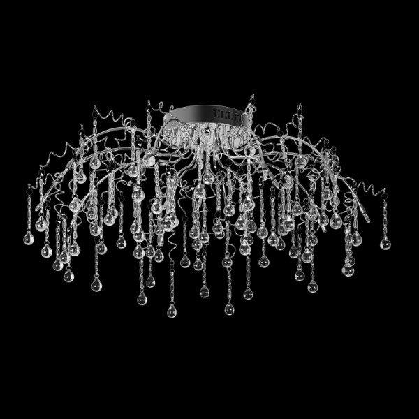 Потолочные люстры цвета хром - Lustron ru